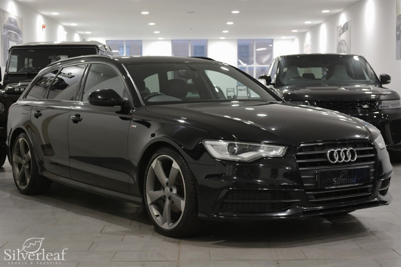 used Audi A6 Avant TDI ULTRA S LINE BLACK EDITION in sheffield-south-yorkshire