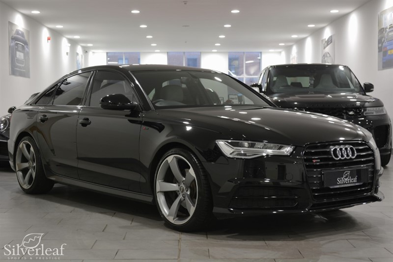 used Audi A6 Saloon TDI ULTRA S LINE BLACK EDITION in sheffield-south-yorkshire