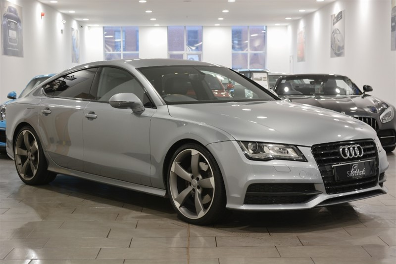 used Audi A7 TDI QUATTRO S LINE BLACK EDITION in sheffield-south-yorkshire