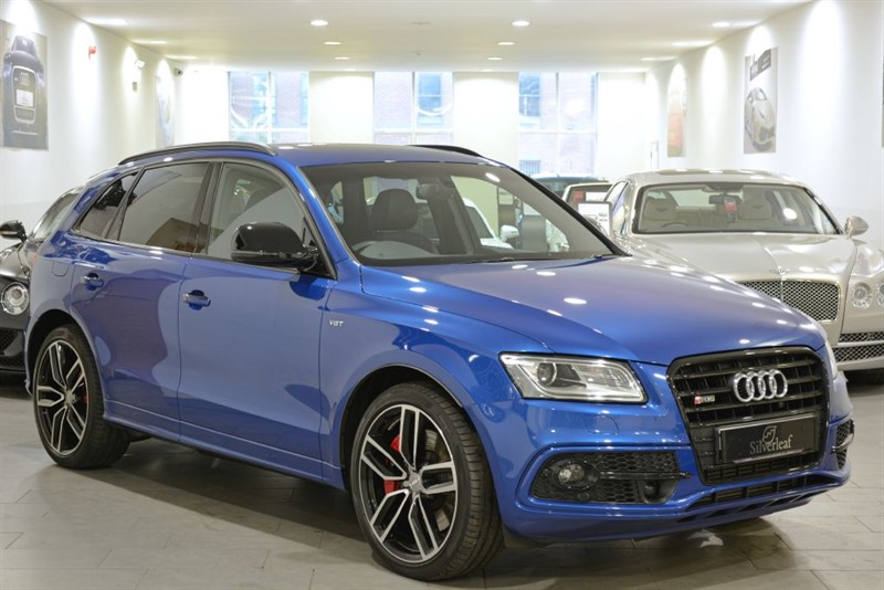 used Audi SQ5  PLUS TDI QUATTRO in sheffield-south-yorkshire