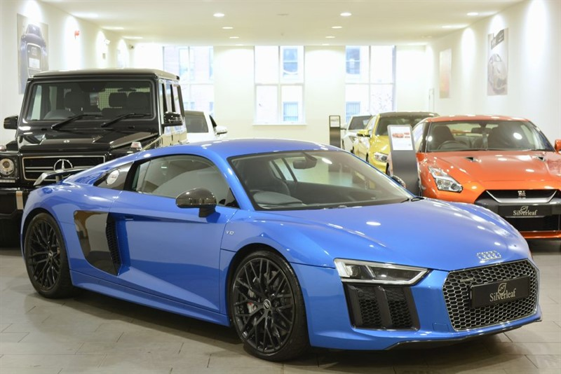 used Audi R8 V10 PLUS QUATTRO in sheffield-south-yorkshire