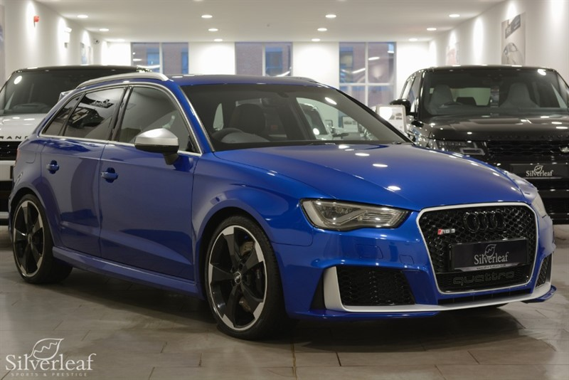 used Audi RS3 SPORTBACK QUATTRO NAV in sheffield-south-yorkshire