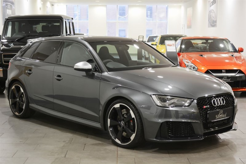 used Audi RS3 SPORTBACK QUATTRO NAV in sheffield-south-yorkshire