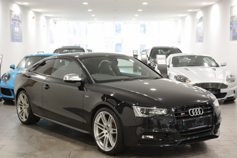 used Audi S5 TFSI QUATTRO S LINE BLACK EDITION in sheffield-south-yorkshire