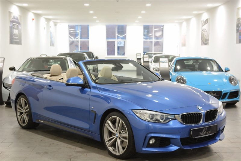 used BMW 435i M SPORT CONVERTIBLE in sheffield-south-yorkshire