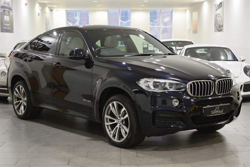 used BMW X6 XDRIVE40D M SPORT in sheffield-south-yorkshire