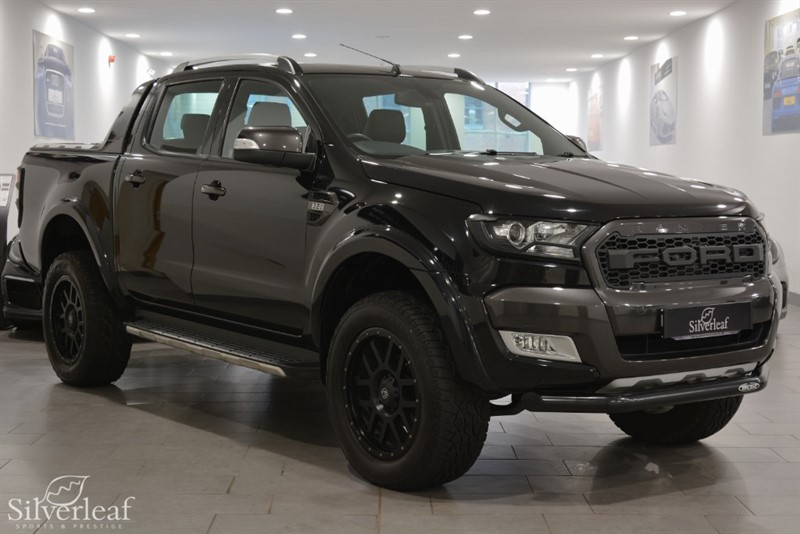 used Ford Ranger WILDTRAK 4X4 DCB TDCI in sheffield-south-yorkshire