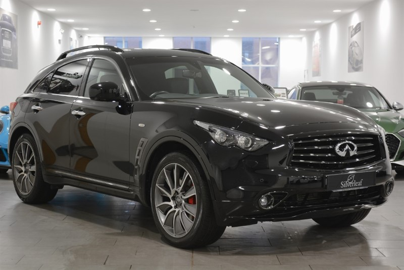 used Infiniti QX70 ULTIMATE D AUTO in sheffield-south-yorkshire