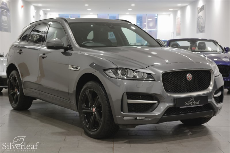 used Jaguar F-Pace R-SPORT AWD in sheffield-south-yorkshire