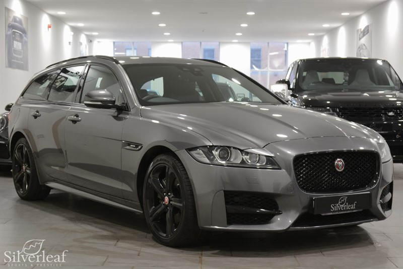 used Jaguar XF D R-SPORT BLACK EDITION in sheffield-south-yorkshire