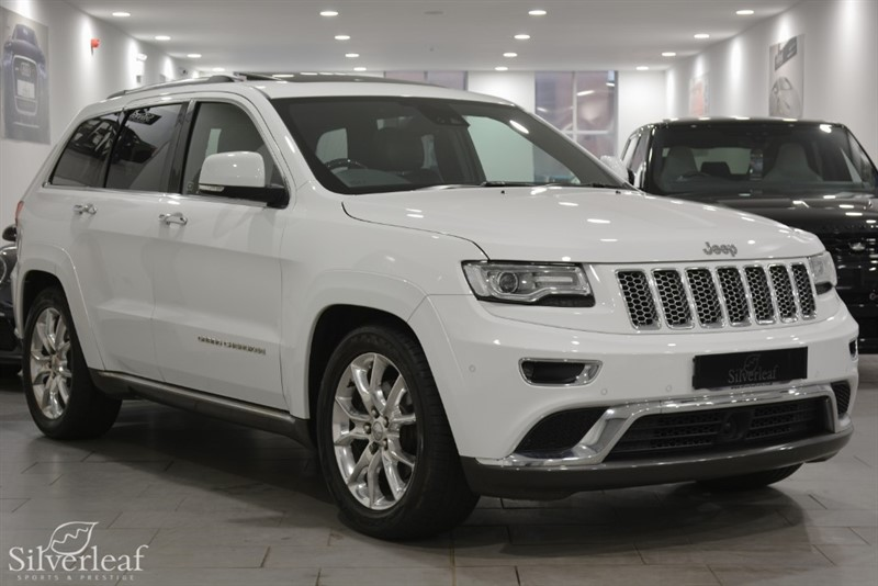 used Jeep Grand Cherokee V6 CRD SUMMIT in sheffield-south-yorkshire