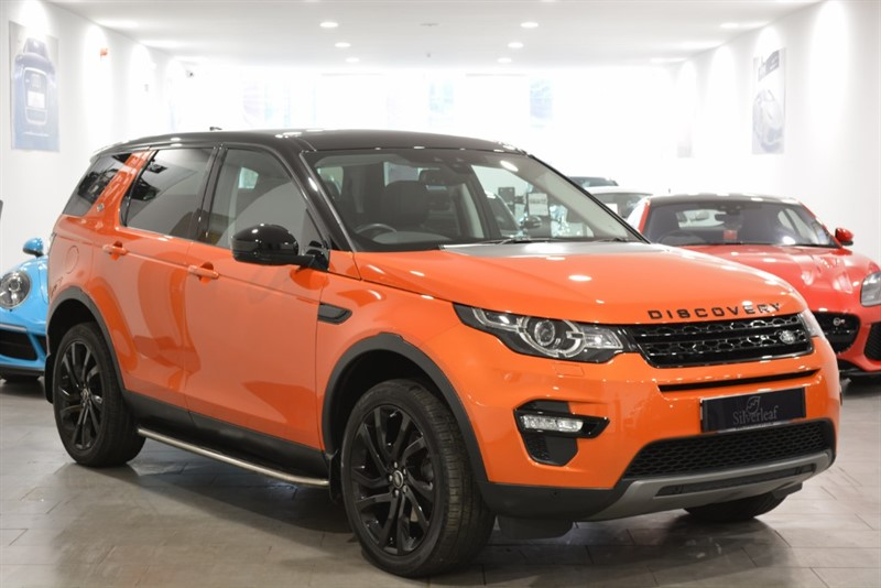 used Land Rover Discovery Sport TD4 HSE BLACK in sheffield-south-yorkshire