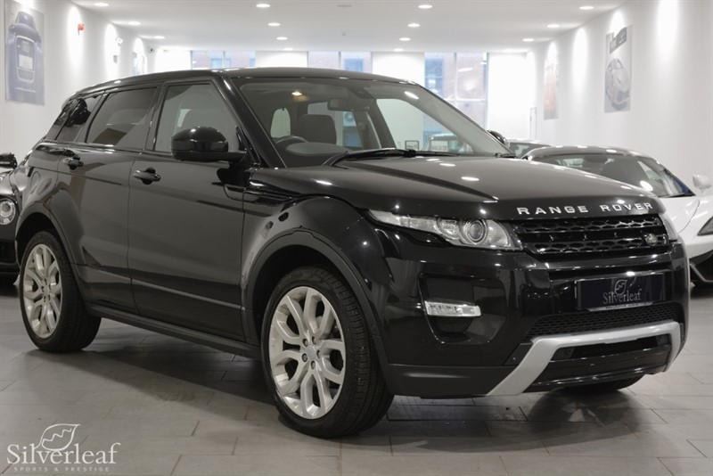 used Land Rover Range Rover Evoque SD4 DYNAMIC LUX in sheffield-south-yorkshire