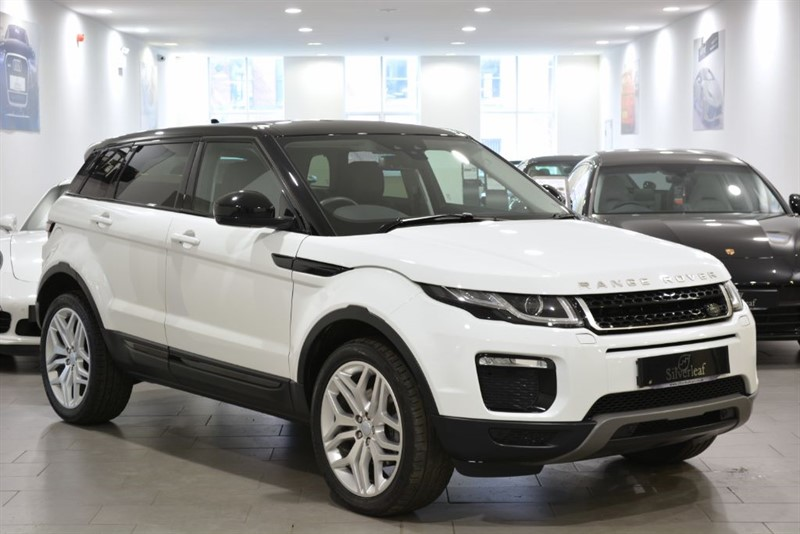 used Land Rover Range Rover Evoque TD4 SE TECH in sheffield-south-yorkshire