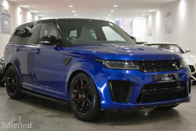 used Land Rover Range Rover Sport SVR in sheffield-south-yorkshire