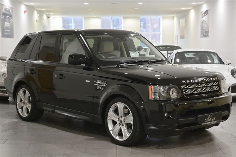 used Land Rover Range Rover Sport SDV6 HSE BLACK in sheffield-south-yorkshire