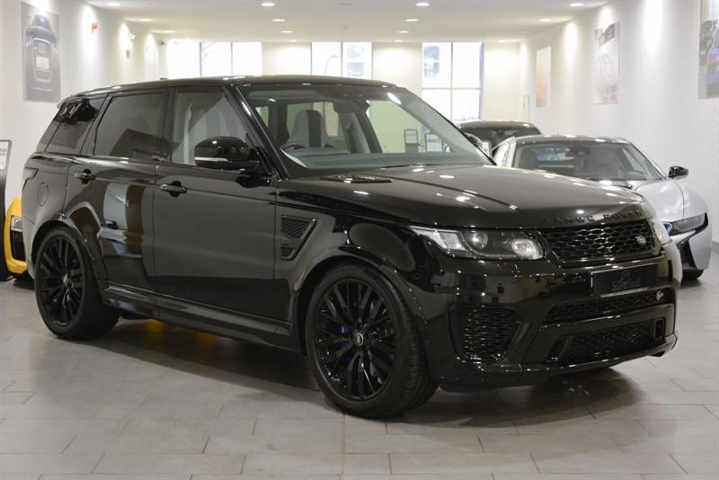 used Land Rover Range Rover Sport V8 SVR in sheffield-south-yorkshire