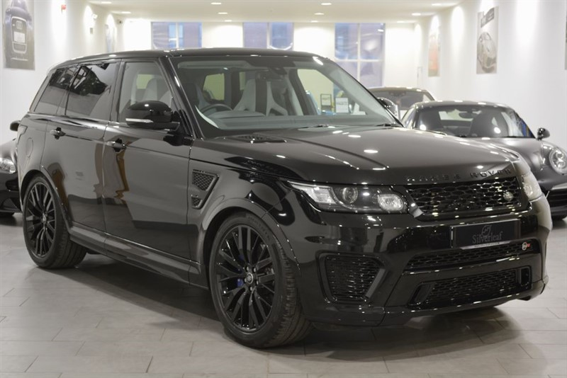 used Land Rover Range Rover Sport V8 SVR in sheffield-south-yorkshire