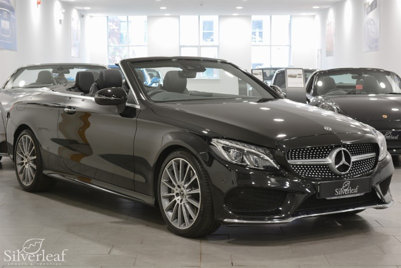 used Mercedes 250 C  D AMG LINE PREMIUM PLUS in sheffield-south-yorkshire