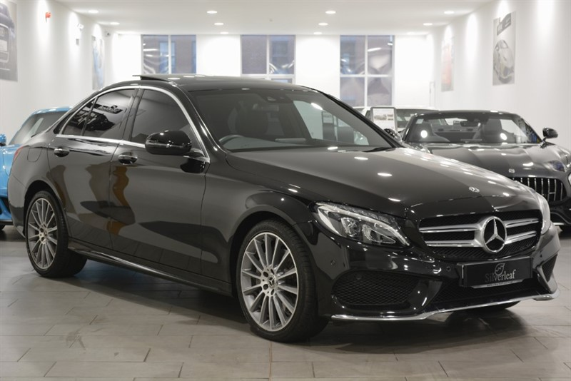 used Mercedes 250 C  D 4MATIC AMG LINE PREMIUM PLUS in sheffield-south-yorkshire