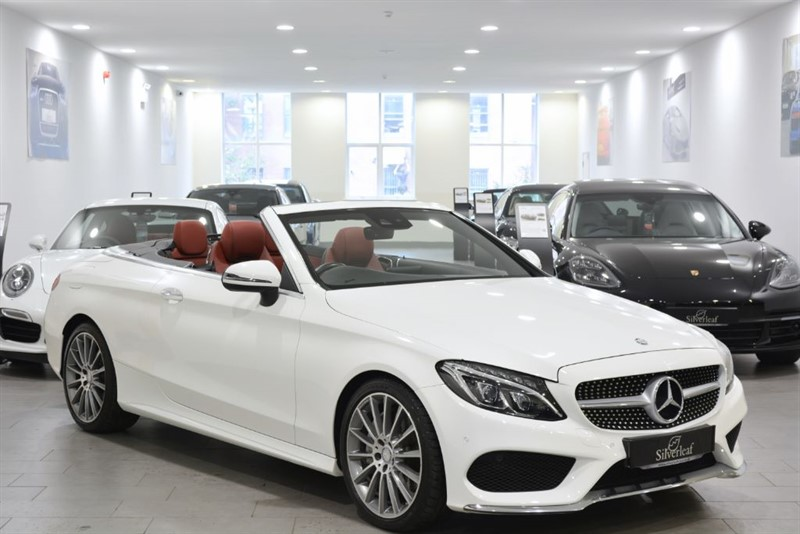 used Mercedes  C-CLASS C 250 D AMG LINE PREMIUM in sheffield-south-yorkshire