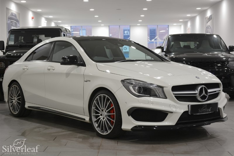 used Mercedes CLA45 AMG 4MATIC in sheffield-south-yorkshire
