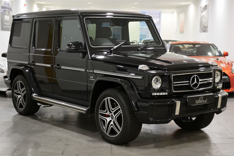 used Mercedes G63 AMG 4MATIC in sheffield-south-yorkshire