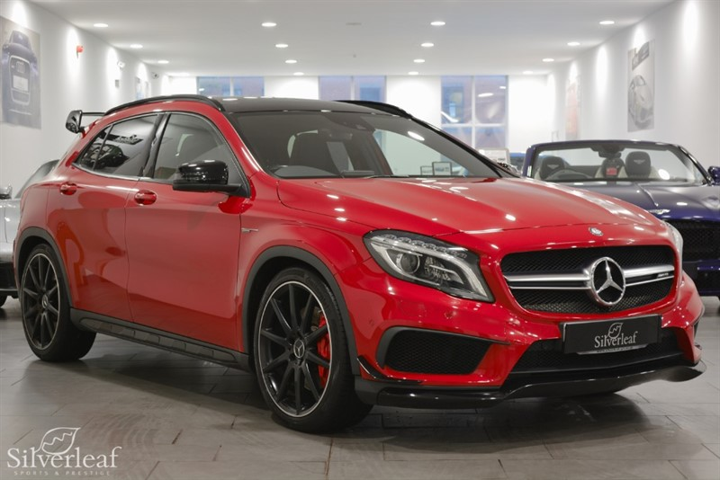 used Mercedes GLA45 AMG 4MATIC in sheffield-south-yorkshire