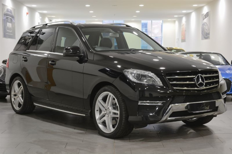 used Mercedes ML350 BLUETEC AMG LINE PREMIUM in sheffield-south-yorkshire