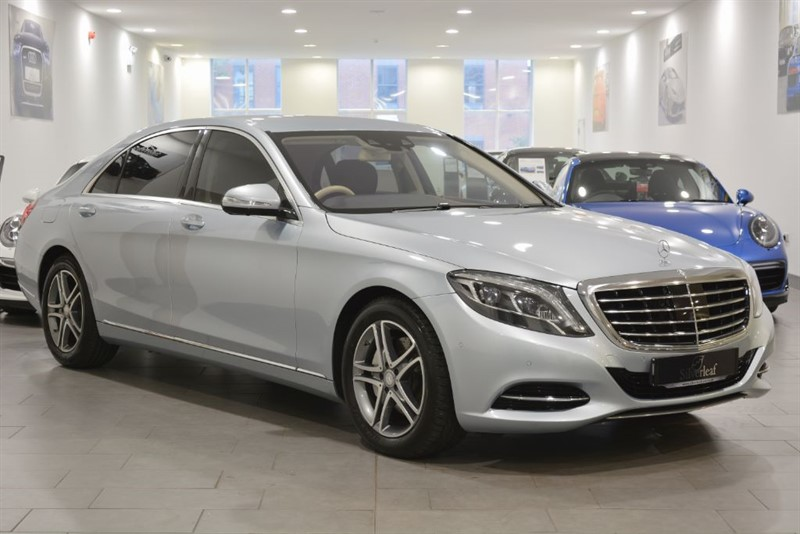 used Mercedes S350 BLUETEC L SE LINE in sheffield-south-yorkshire