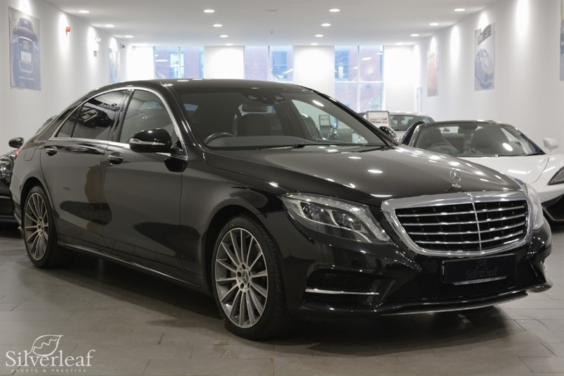 used Mercedes S350 BLUETEC AMG LINE in sheffield-south-yorkshire