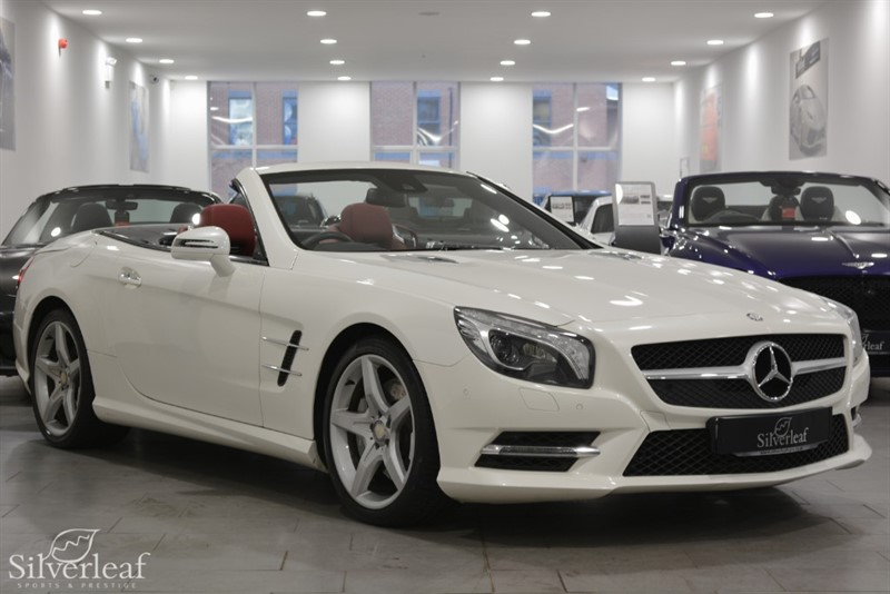 used Mercedes SL SL350 in sheffield-south-yorkshire