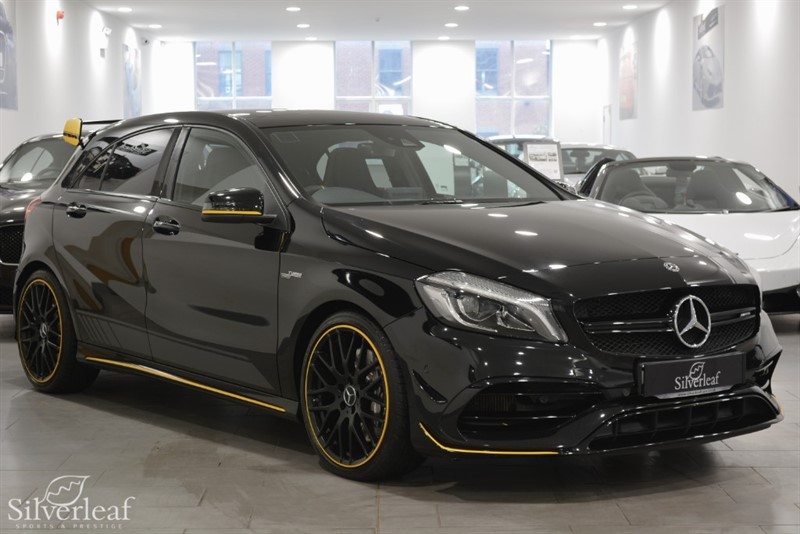 used Mercedes A45 AMG 4MATIC YELLOW NIGHT EDITION in sheffield-south-yorkshire