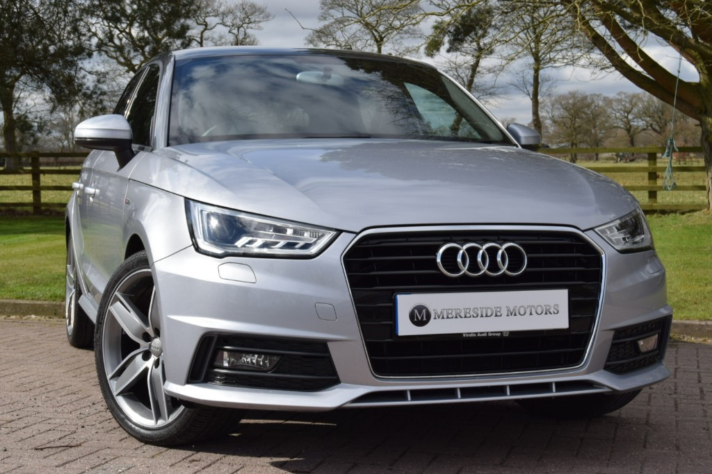 used Audi A1 SPORTBACK TFSI S LINE in knutsford-cheshire