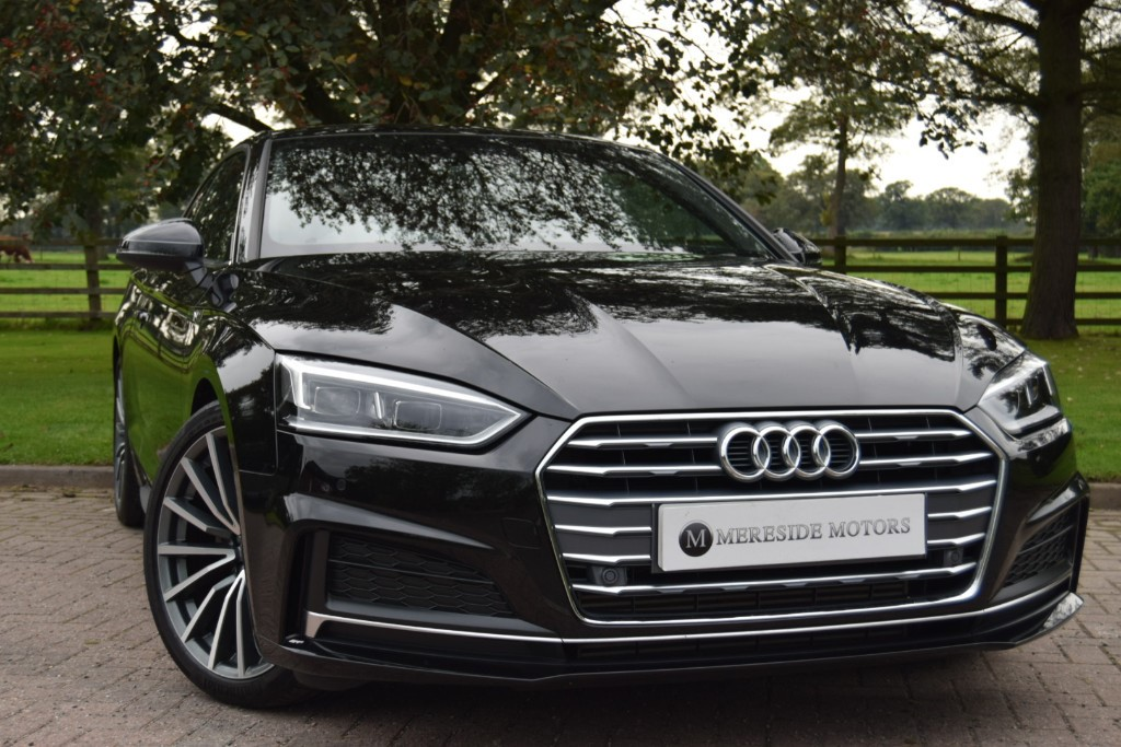 used Audi A5 TFSI S LINE in knutsford-cheshire