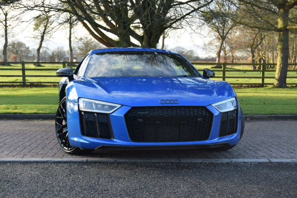 used Audi R8 V10 PLUS QUATTRO used cars in knutsford-cheshire