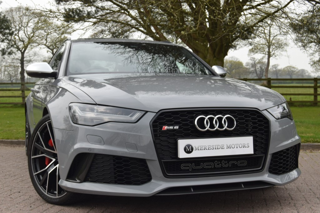 used Audi RS6 PERFORMANCE AVANT TFSI QUATTRO in knutsford-cheshire