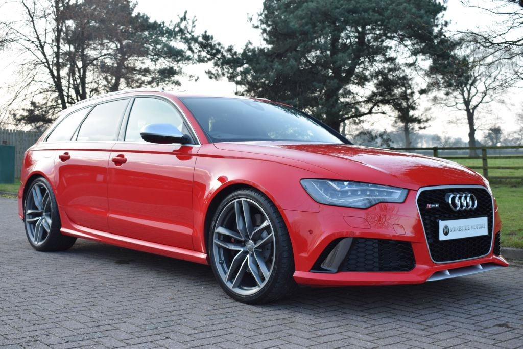 used misano red audi rs6 avant performance for sale cheshire. Black Bedroom Furniture Sets. Home Design Ideas