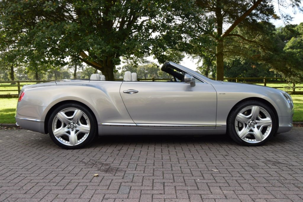used Bentley Continental GTC Mulliner in knutsford-cheshire