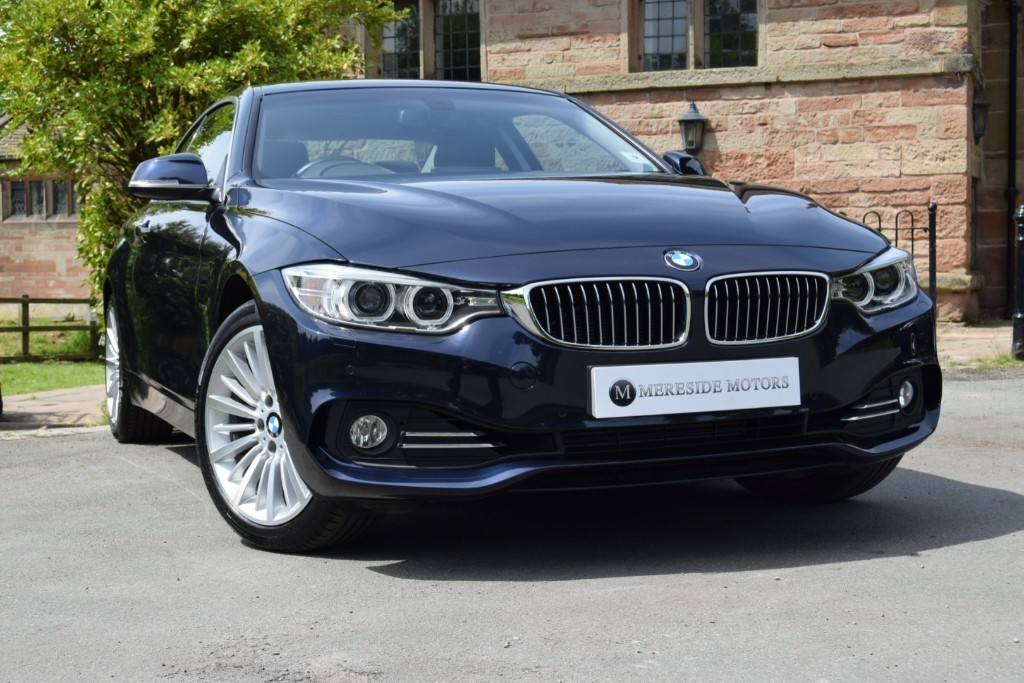 used BMW 420i XDRIVE LUXURY in knutsford-cheshire