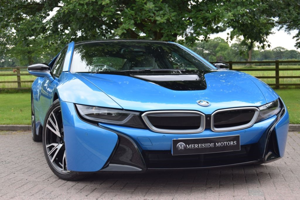 used BMW i8 I8 VAT QUALIFYING in knutsford-cheshire