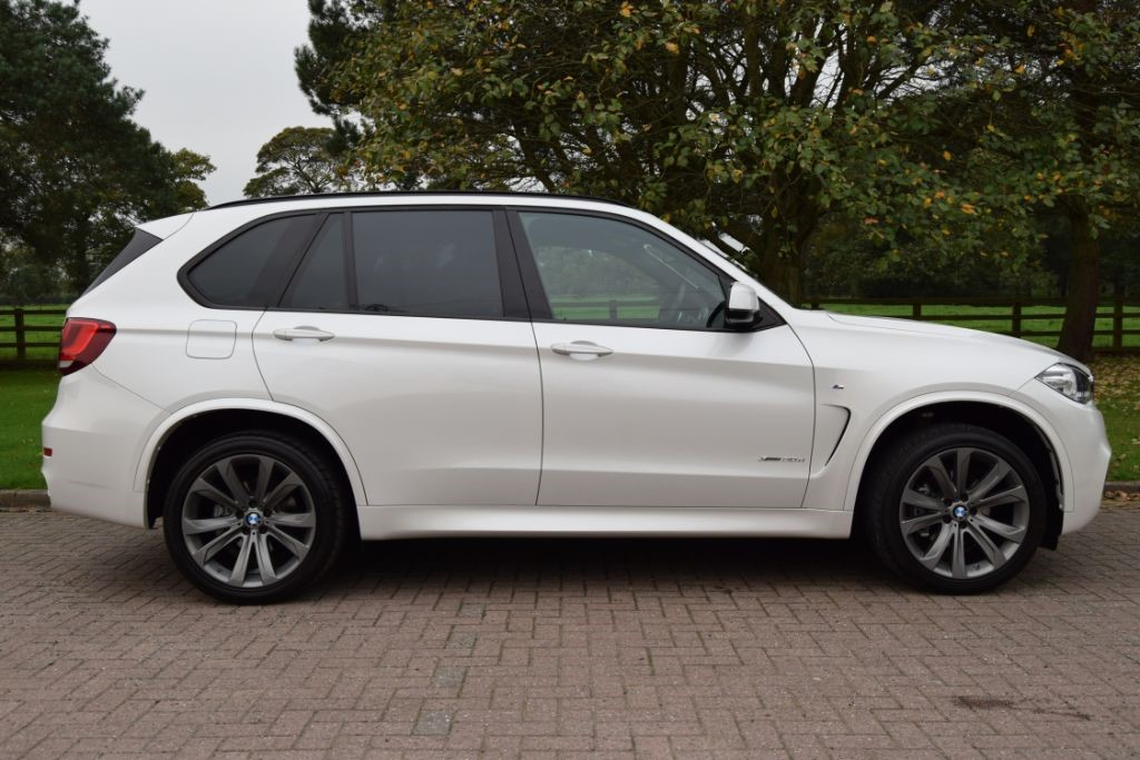 used BMW X5 XDRIVE30D M SPORT in knutsford-cheshire