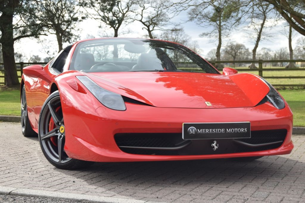 used Ferrari 458 SPIDER DCT in knutsford-cheshire