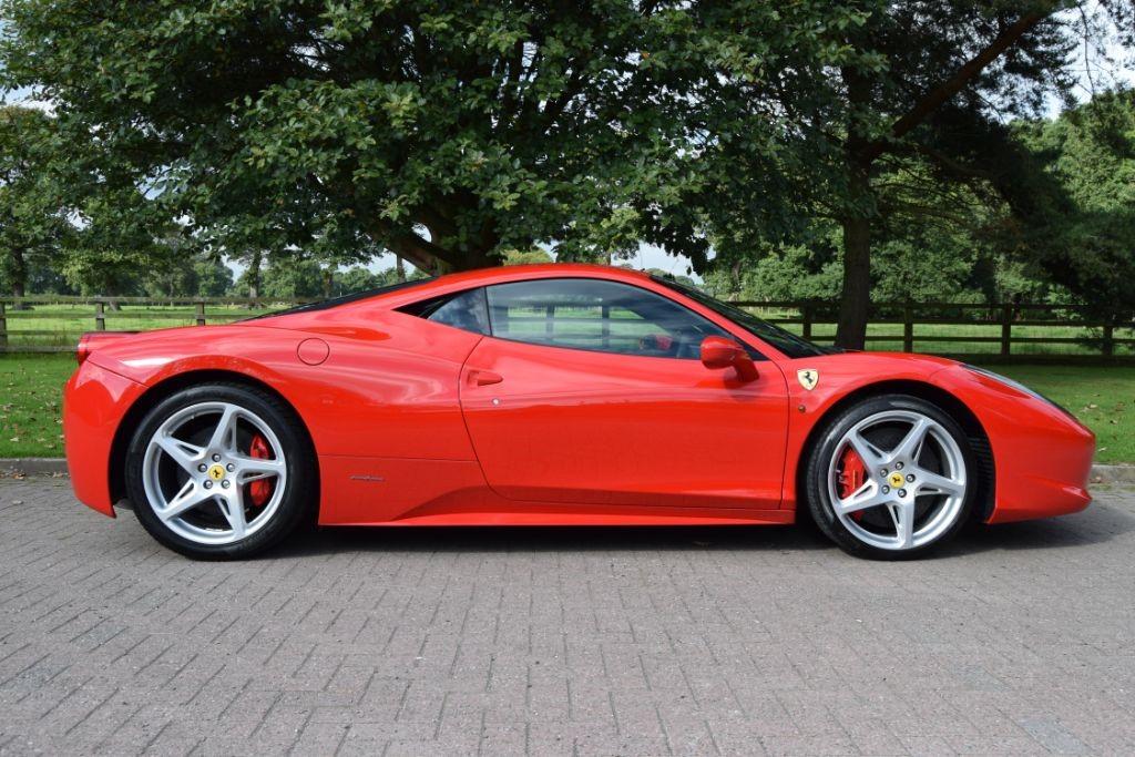 used Ferrari 458 ITALIA DCT in knutsford-cheshire