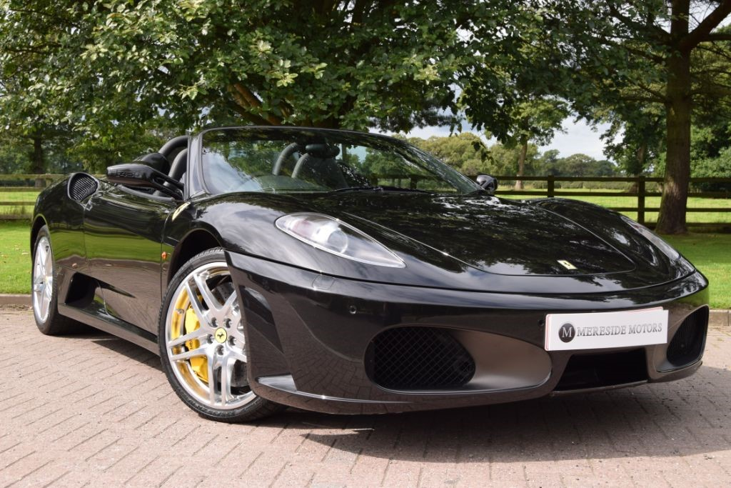 used Ferrari F430 SPIDER F1 in knutsford-cheshire