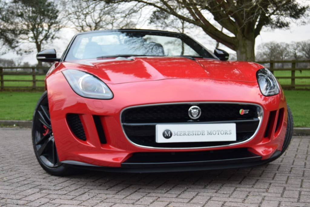 used Jaguar F-Type V6 S in knutsford-cheshire