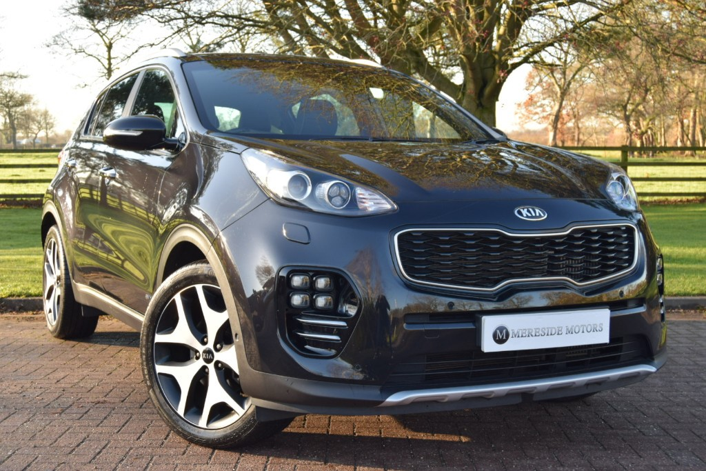 used Kia Sportage CRDI GT-LINE S in knutsford-cheshire