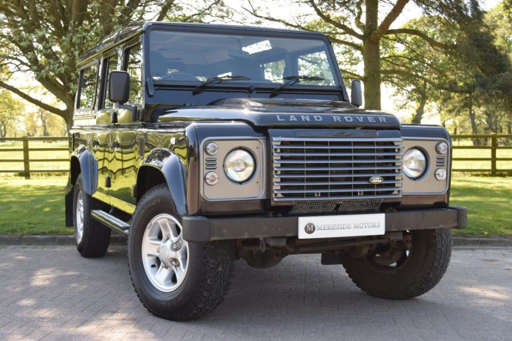 used Land Rover Defender 110 TD XS STATION WAGON in knutsford-cheshire