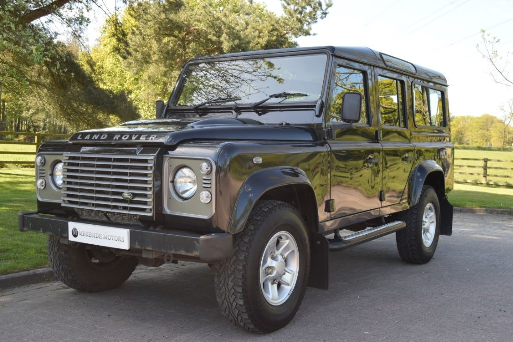 land rover defender 110 td xs station wagon for sale nether alderley cheshire mereside motors. Black Bedroom Furniture Sets. Home Design Ideas