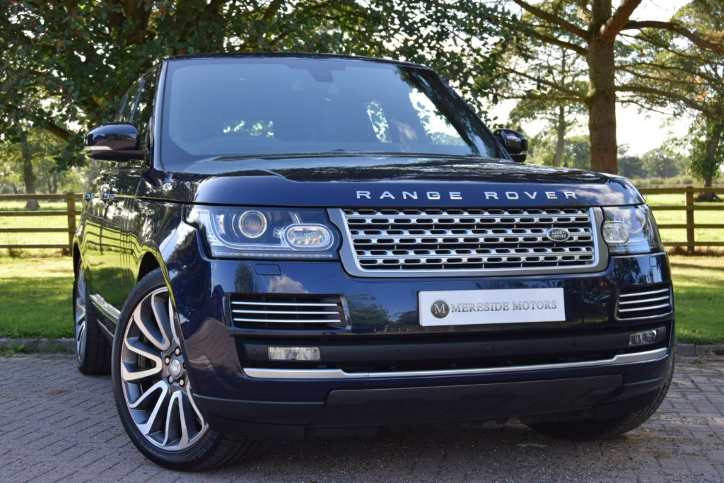used Land Rover Range Rover V8 AUTOBIOGRAPHY in knutsford-cheshire